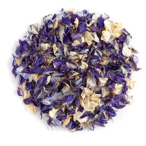 Blue Mix confetti petals - Biodegradable Confetti - Real Flower Petal Confetti