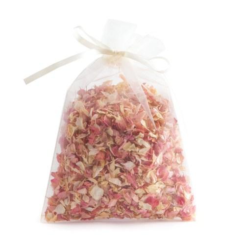 Pink Mix - 10 Handful Bag - Biodegradable Confetti - Real Flower Petal Confetti