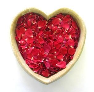 Red Rose Petals - romantic decorations