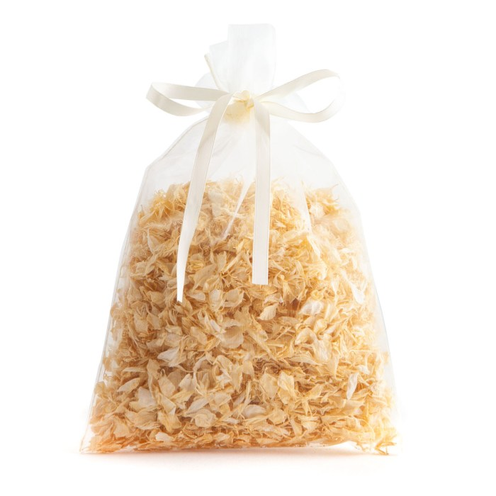 Vanilla Twist - 10 Handful Bag - Biodegradable Confetti - Real Flower Petal Confetti