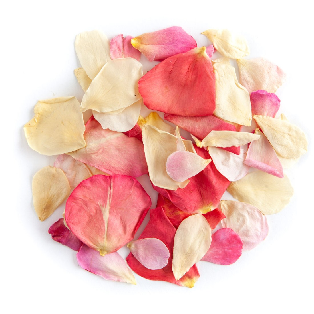 Bright Pink Mix Small Natural Rose Petals