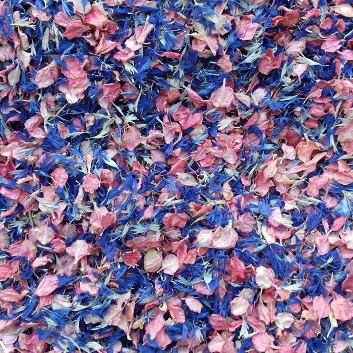 Blueberry Twist Confetti Petals