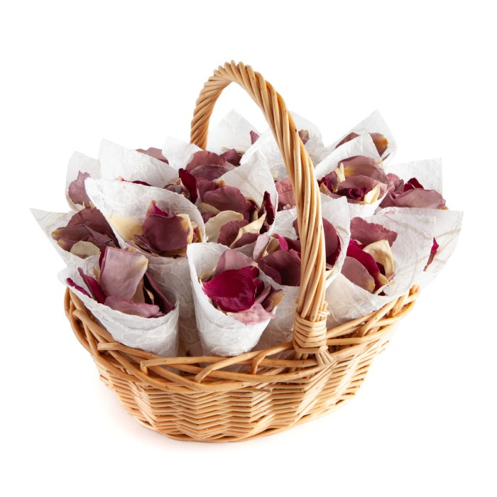 merlot, lilac and cream rose petals