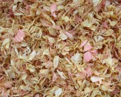 rose gold confetti petals