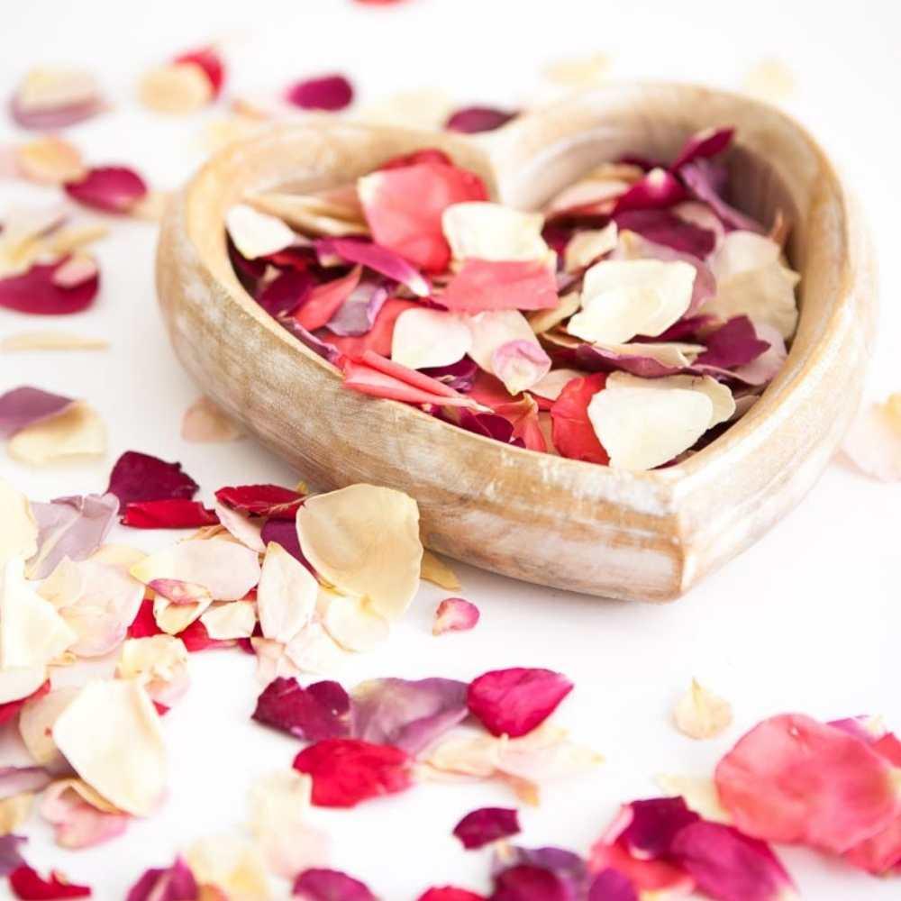 rose memorial petals