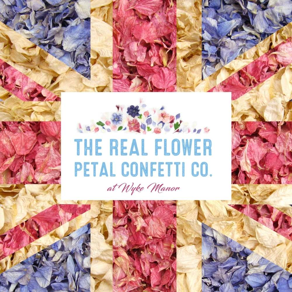 Great British confetti - Union Jack Petal Flag