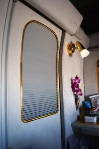 """The doors to First class """"suites"""" close for privacy."""