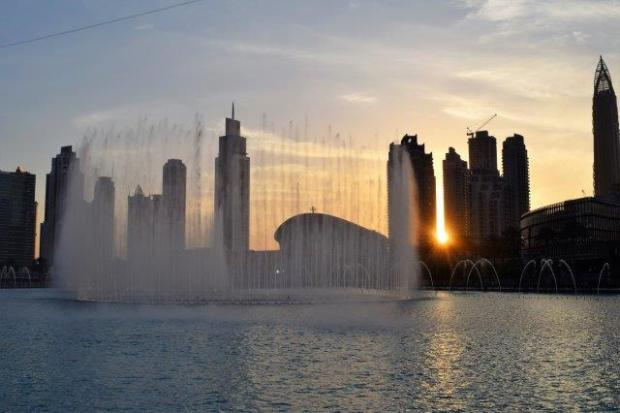 Burj al Khalifa Fountain