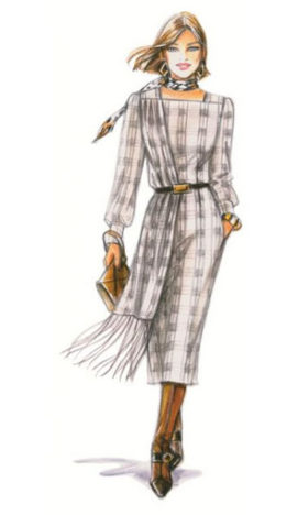 Supplément 319 / Modèle 201 - Robe