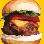 How do you say burger?
