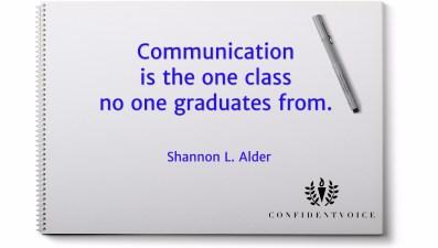 Alder Communication Class