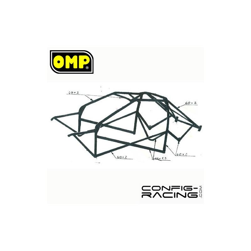Arceau OMP ONS BMW Série 3 E36 Compact Multipoints à