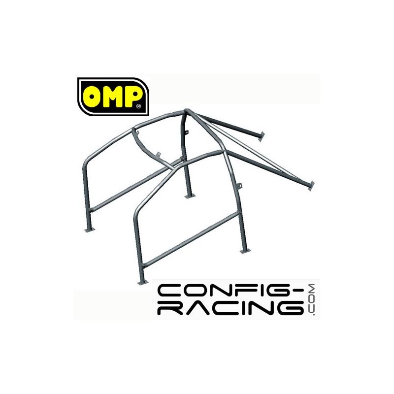 Arceau Standard FIA OMP Peugeot 106 6 Points à boulonner