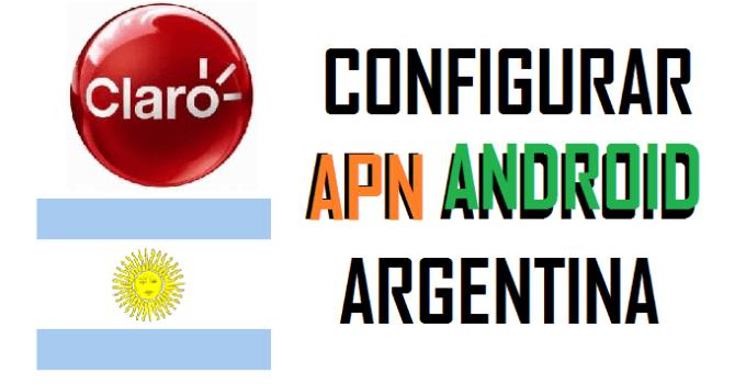 internet apn configurar apn claro argentina android 2017