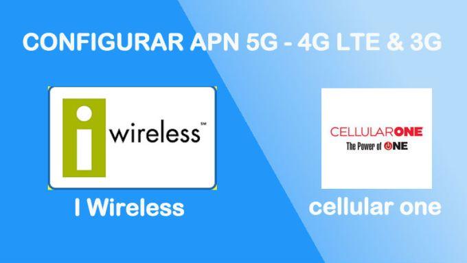 como reparar configurar apn cellular one i wireless usa estados unidos 2018 android iphone