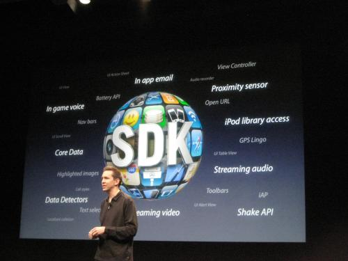 sdk iphone 3.0 OS apple