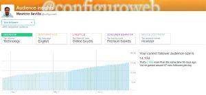 Aumento de Seguidores en Twitter