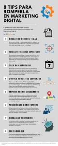 8 Tips para romperla en Marketing Digital