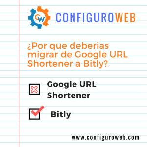 Por que deberias migrar de Google URL Shortener a Bitly