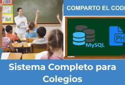 Sistema Completo para Colegios