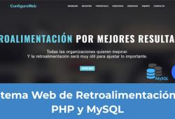 Sistema Web de Retroalimentación en PHP y MySQL