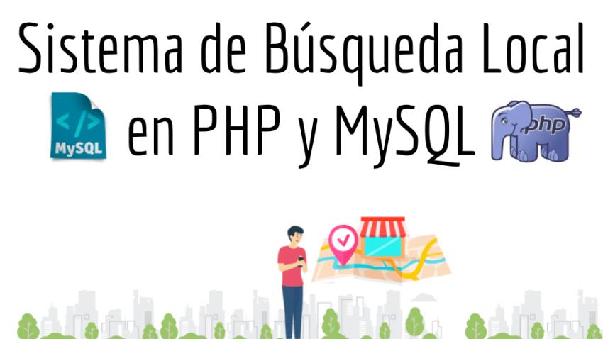 Sistema de Busqueda Local en PHP y MySQL