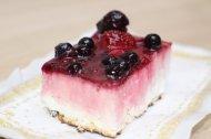 pastel de frutos del bosque