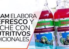 Elaboran en la UNAM refresco y leche con insumos nutritivos nacionales