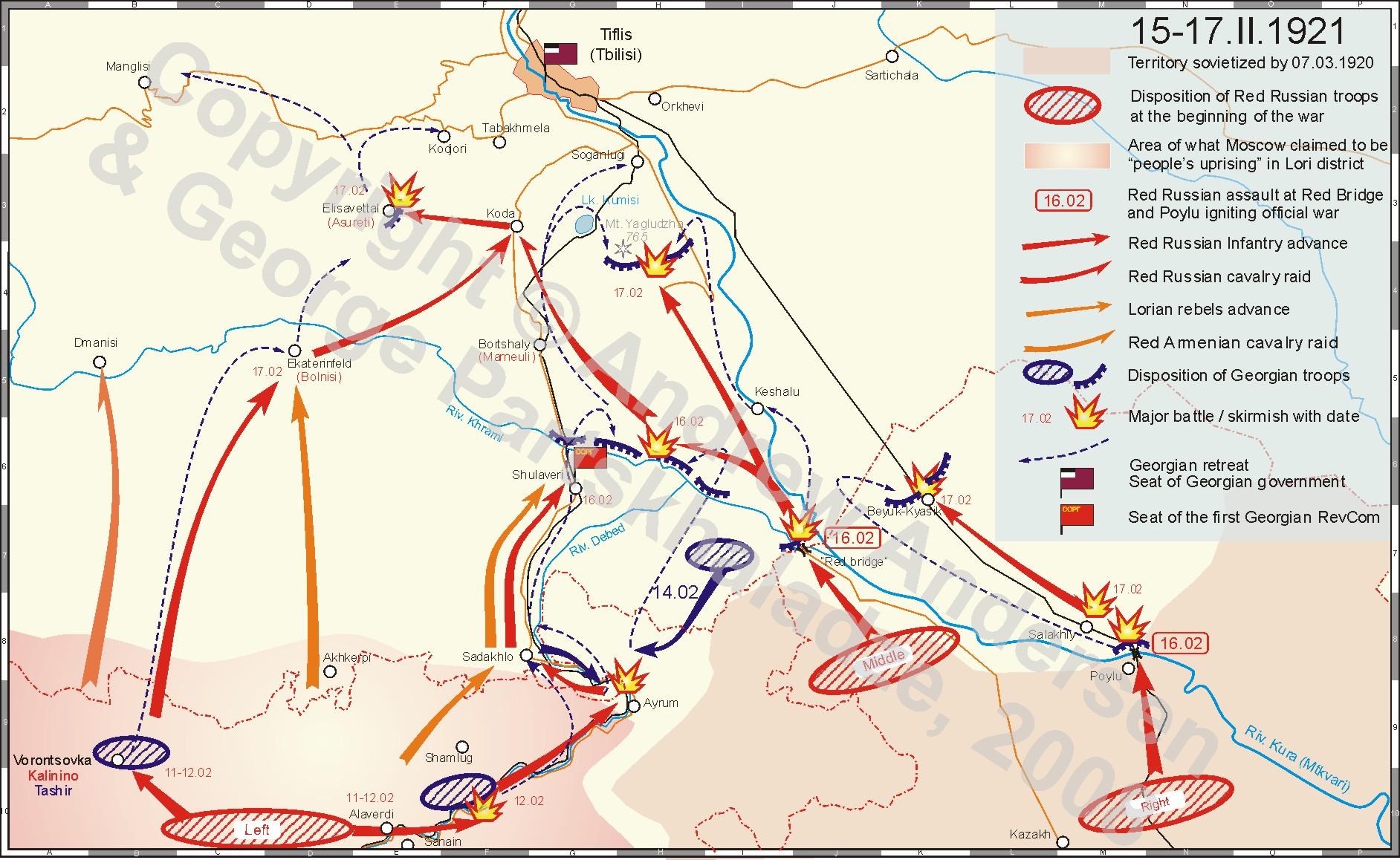 Soviet Georgian War And Sovietization Of Georgia II III