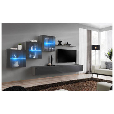 vitrine led 1 banc tv
