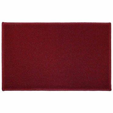 tapis cuisine rouge conforama