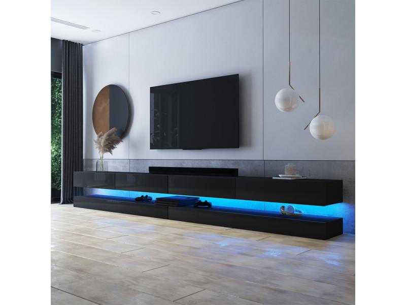meuble tv suspendu hylia double