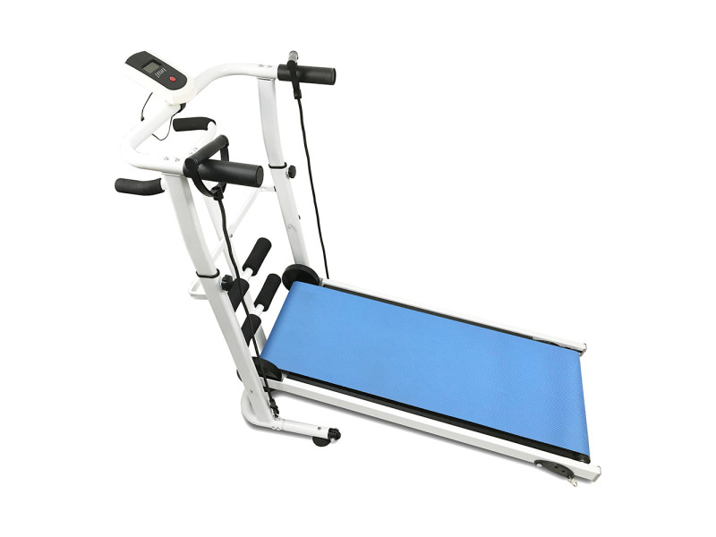 https www conforama fr jardin loisirs sport fitness et musculation velo elliptique et appareil de fitness tapis de marche mecanique hombuy tapis de course pliable bleu p g59396588