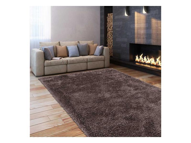 tapis shaggy poils long 240x340 cm
