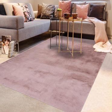 tapis petite taille rose conforama