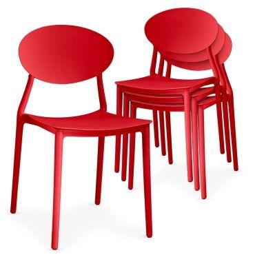 chaise de cuisine rouge page 8