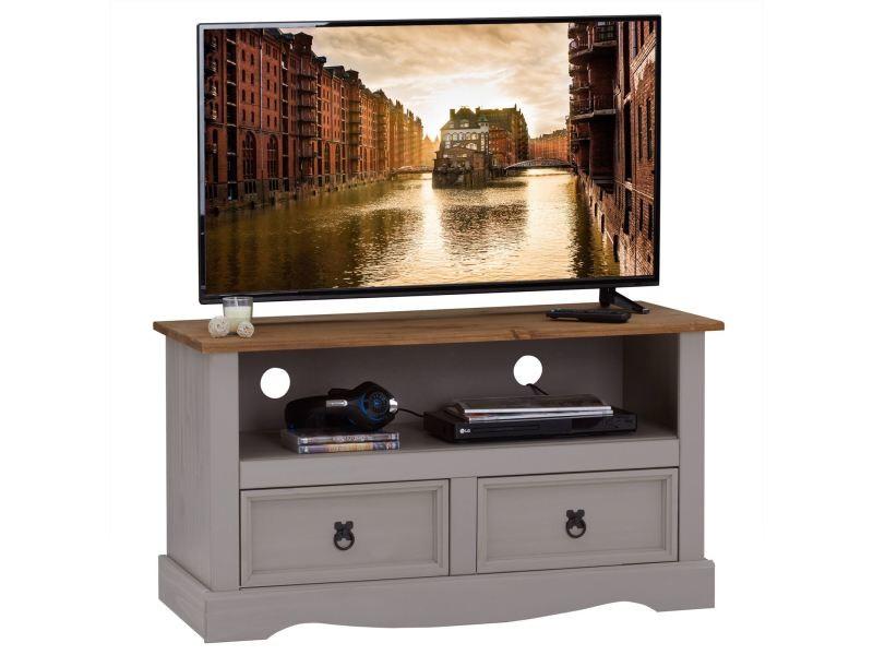 meuble tv ramon banc television en pin