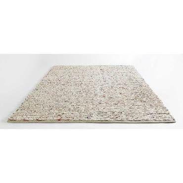 tapis tresse en laine 170 x 230 cm