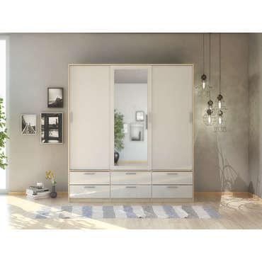 armoire 2 portes winner 2 coloris noir