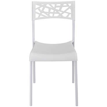 chaise de cuisine blanc conforama