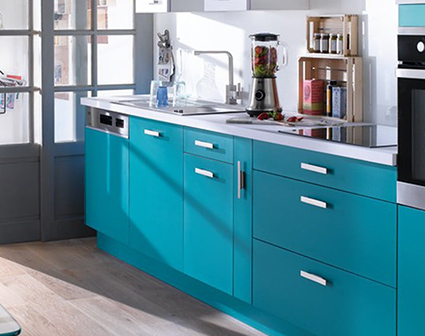 cuisine bleue 7 facons de l adopter