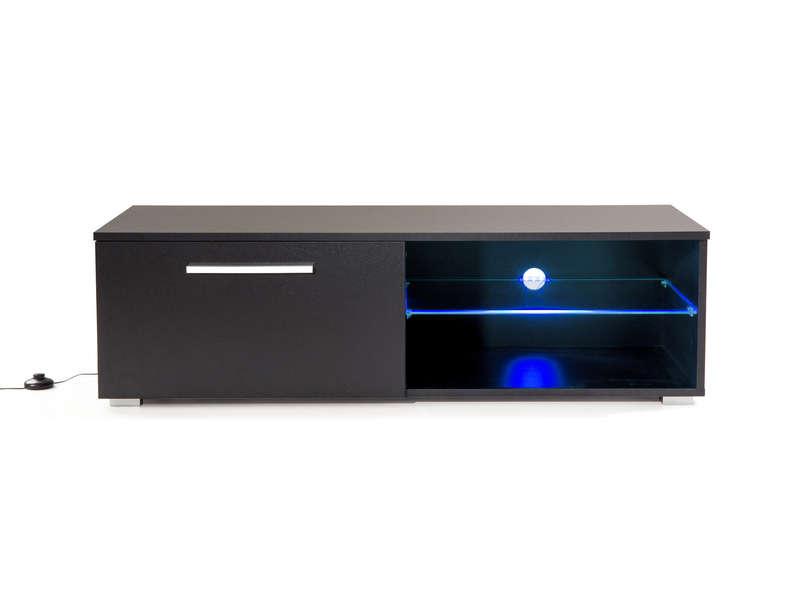 meuble tv l 120 cm ohio coloris noir