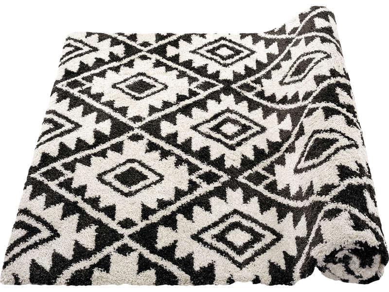 tapis 160x230 cm coloris gris