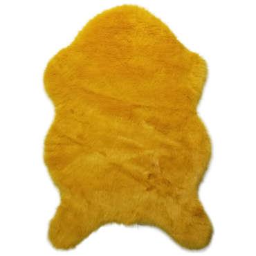 tapis petite taille jaune conforama