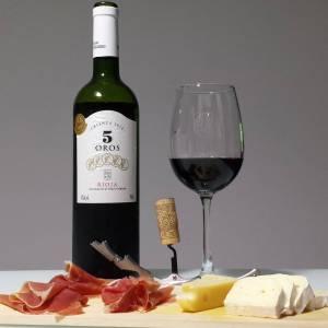 5 Oros Crianza – Avaliação de vinho Tempranillo, Garnacha e Graciano