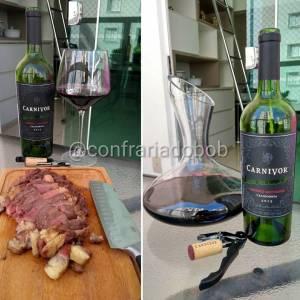 Carnivor 2015 – Avaliação de vinho Cabernet Sauvignon e Petit Syrah