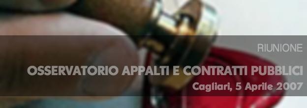 Osservatorio appalti 05/04/2004