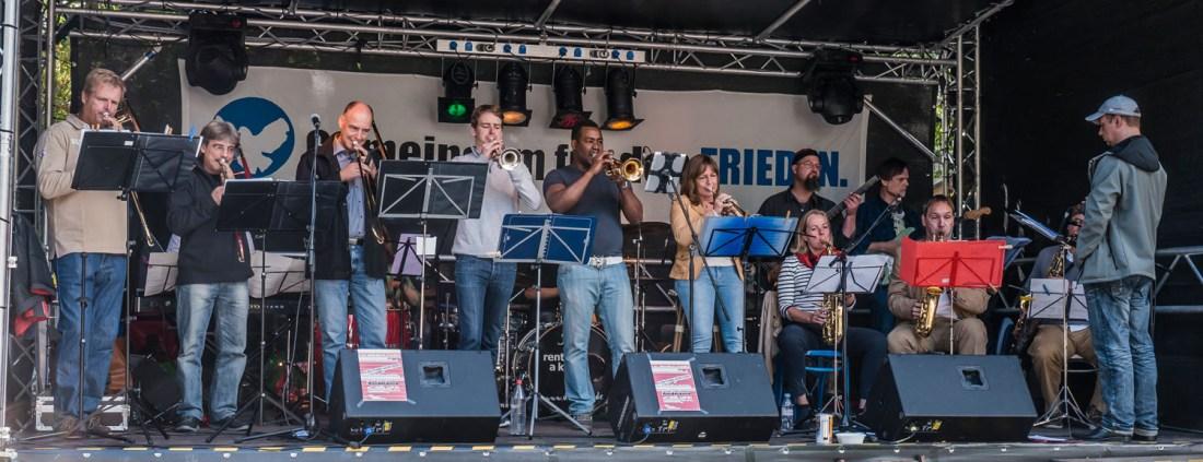 conFUSION Big Band Hamburg für Live-Auftritte, Konzerte buchen. (Foto: Manfred Scharnberg)