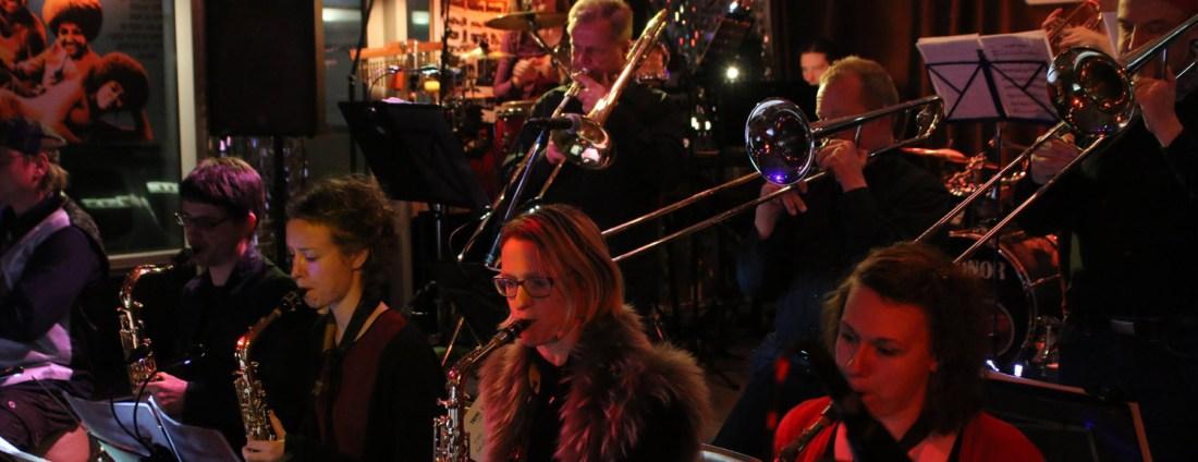 Die conFUSION Big Band Hamburg live auf der Bühne
