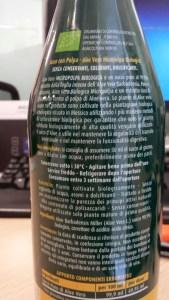 Aloe Vera, succo, Biologico, bottiglia